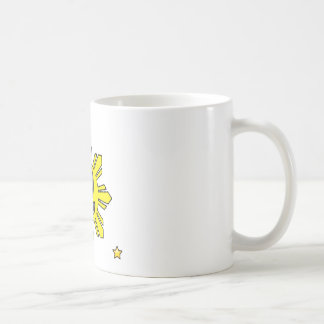 Pinoy Smiling Sun plus Star Coffee Mug