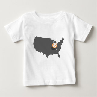 PINPOINT Knoxville Tennessee Baby T-Shirt