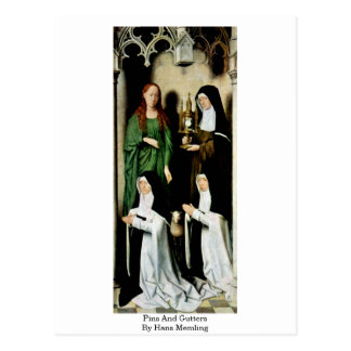 Pins And Gutters By Hans Memling Postcard