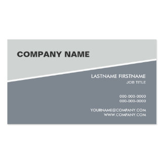 Pinstripe Business Card No.1
