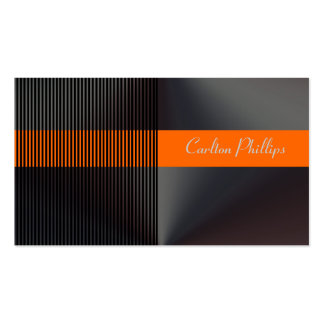 Pinstripe + musculin business cards