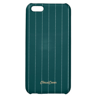Pinstripe Teal Green Pattern Savvy Case For iPhone 5C