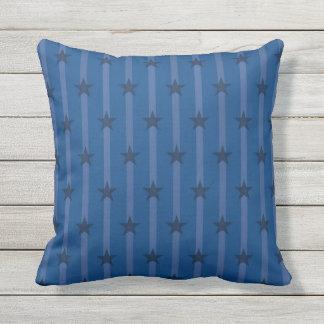 Pinstriped Stars Cushion