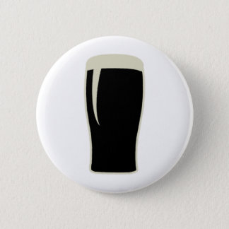 Pint o' Stout 6 Cm Round Badge