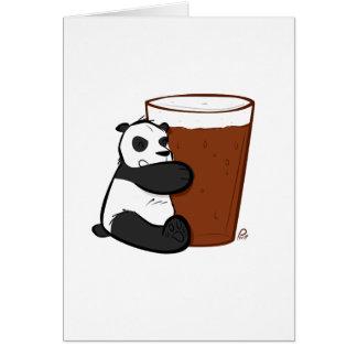 Pint Panda - Greeting Card
