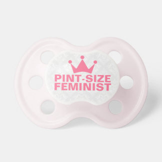 Pint-Size Feminist Text Design Dummy