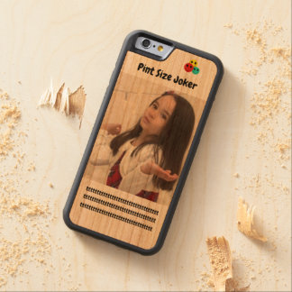 Pint Size Joker: Cafeteria, Steak, And Lobster Carved Cherry iPhone 6 Bumper Case