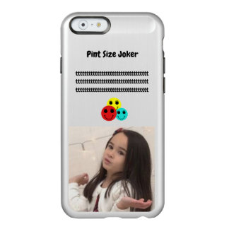 Pint Size Joker: Cafeteria, Steak, And Lobster Incipio Feather® Shine iPhone 6 Case