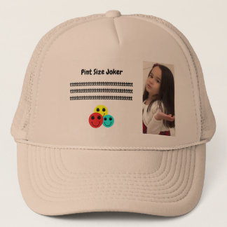 Pint Size Joker: Cafeteria, Steak, And Lobster Trucker Hat