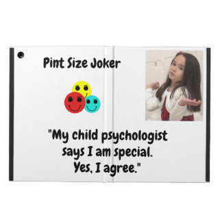 Pint Size Joker: Child Psychologist Special iPad Air Cover