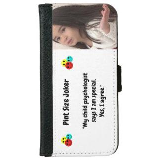 Pint Size Joker: Child Psychologist Special iPhone 6 Wallet Case