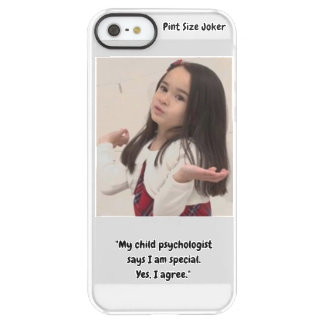 Pint Size Joker: Child Psychologist Special Permafrost® iPhone SE/5/5s Case