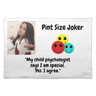 Pint Size Joker: Child Psychologist Special Placemat