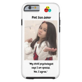 Pint Size Joker: Child Psychologist Special Tough iPhone 6 Case