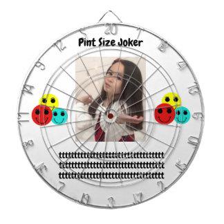 Pint Size Joker Design: Adult-Sized Booster Seat Dartboard
