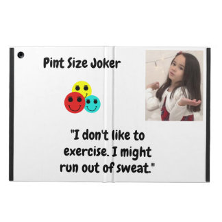 Pint Size Joker Design: Exercise And Sweat Case For iPad Air