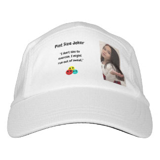 Pint Size Joker Design: Exercise And Sweat Hat