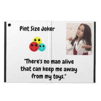 Pint Size Joker Design: Man And Toys Case For iPad Air