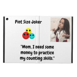 Pint Size Joker Design: Money And Counting Skills iPad Air Cover