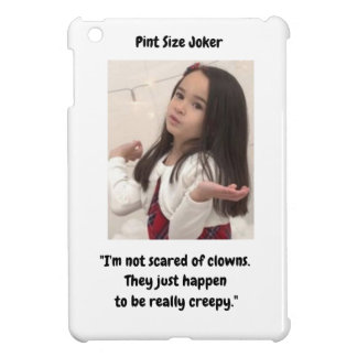 Pint Size Joker Design: Scary, Creepy Clowns iPad Mini Cover