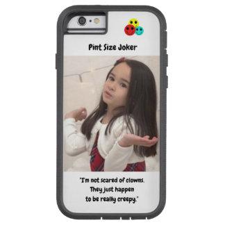 Pint Size Joker Design: Scary, Creepy Clowns Tough Xtreme iPhone 6 Case