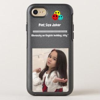Pint Size Joker: English Bulldog OtterBox Symmetry iPhone 8/7 Case