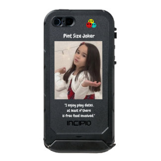 Pint Size Joker: Free Food And Play Dates Incipio ATLAS ID™ iPhone 5 Case