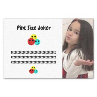 Pint Size Joker: Principal's Job Tissue Paper