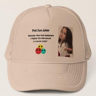 Pint Size Joker: Server Crashes And Homework Trucker Hat