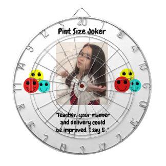 Pint Size Joker: Teacher Gets a B+ Dartboard