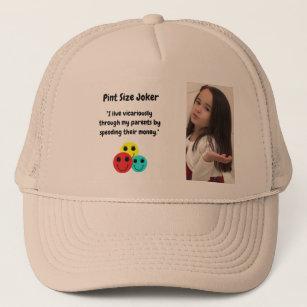 Pint Size Joker: Vicarious Parents And Money Trucker Hat