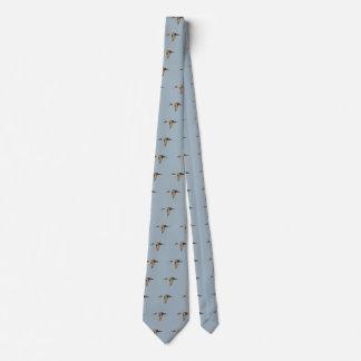 Pintail Duck in Flight Tie (Printed on back too)