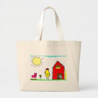 pintinho large tote bag
