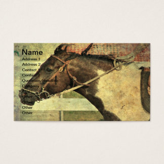 Pinto Pony in Games Class Business Card