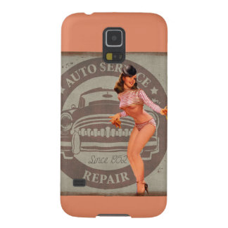 Pinup Car Case For Galaxy S5