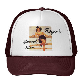 Pinup Cowgirl Cap