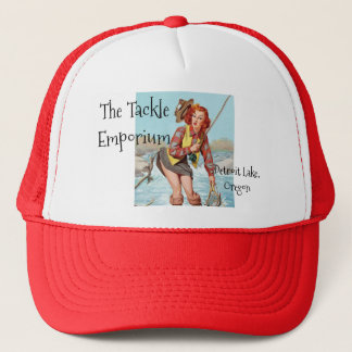 Pinup Fishing Trucker Hat