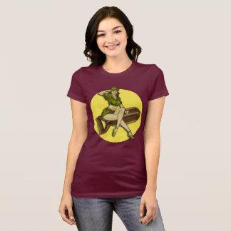 Pinup Girl Bombshell, Latina T-Shirt