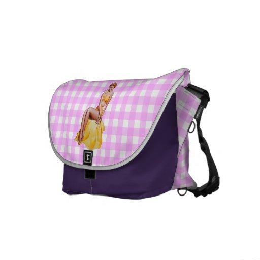 Pinup Girl Messenger Bags