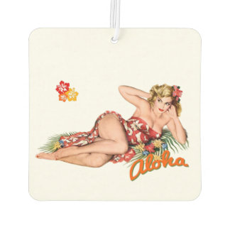 Pinup Girl Pretty, Sexy Island Blonde.