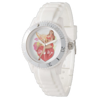 Pinup Heart Watch