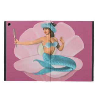 Pinup mermaid iPad air case