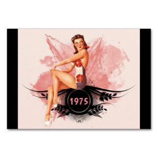 Pinup pink card