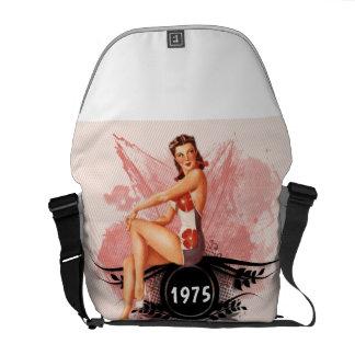 Pinup pink commuter bag