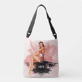 Pinup pink crossbody bag
