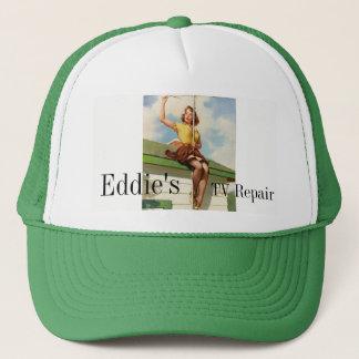 Pinup Roof Trucker Hat