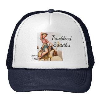 Pinup Saddle Cap