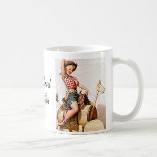 Pinup Saddle Coffee Mug