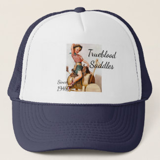 Pinup Saddle Trucker Hat