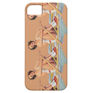 Pinup Women Rowing iPhone Case